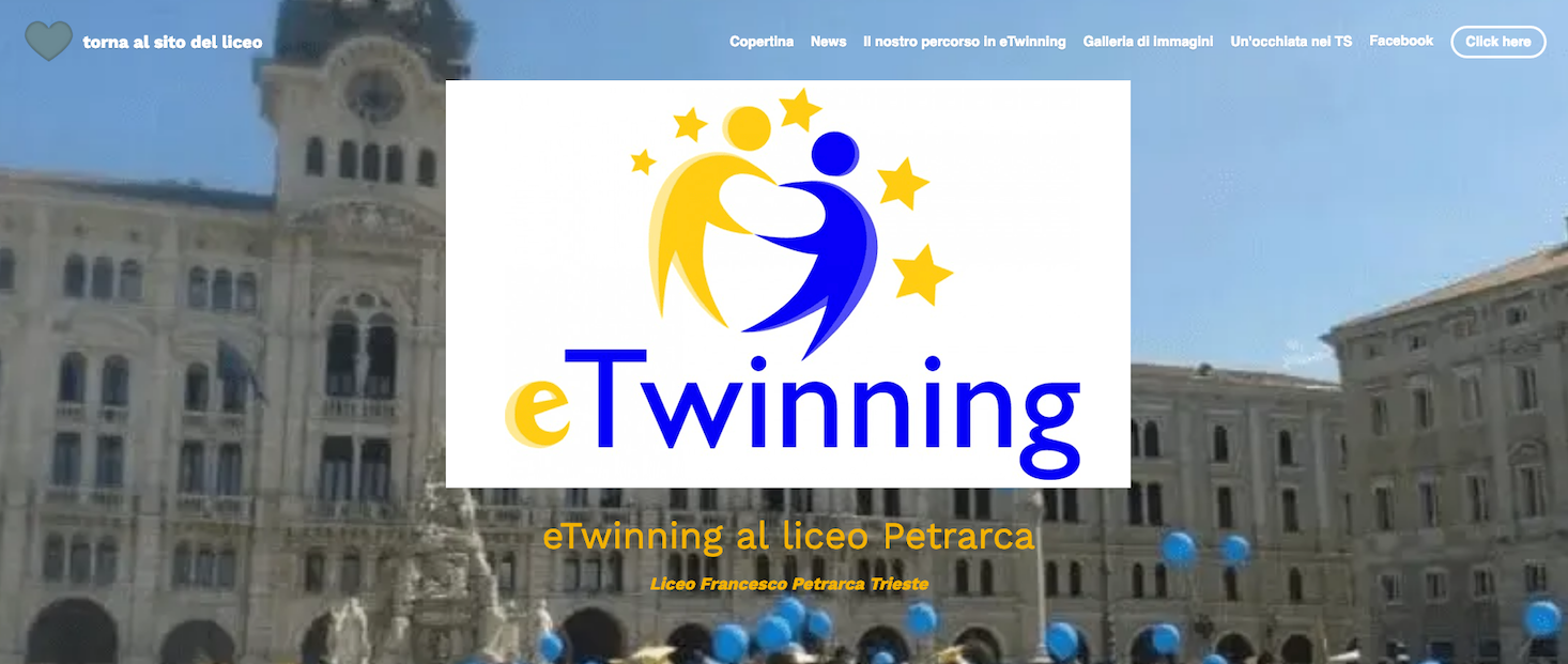 eTwinning website
